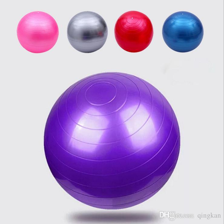 Compre Deportes Bolas De Yoga Bola Pilates Gimnasio Fitness Balance Fitball  Ejercicio Pilates Entrenamiento Masaje Bola 55 Cm 65 Cm 75 Cm A  3.92 Del  ... 99384130fb96
