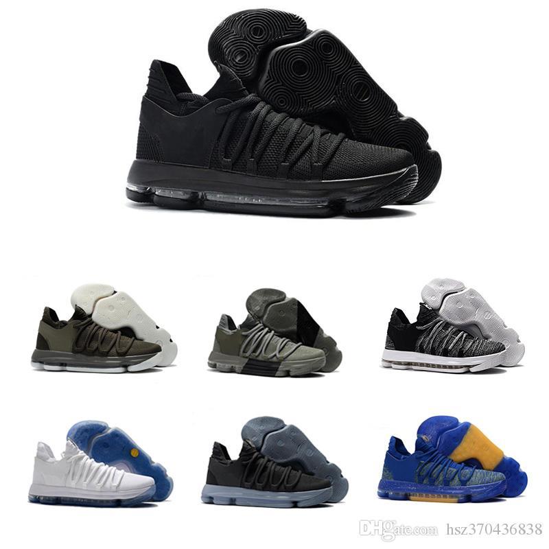 new products fd31d 50c19 ... 2018 Zoom Kd 10 Kevin Durant Blinders Pe Hombres Hombres Mujeres  Baloncesto Correr Diseñador Zapatos De Marca De Lujo Entrenadores Zapatillas  De Deporte ...