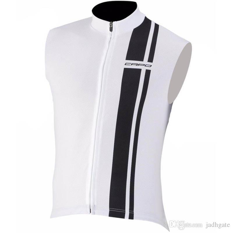 2018 Capo Summer Men s Cycling Jersey Quick-Dry Sleeveless Vest ... b8a98f30e