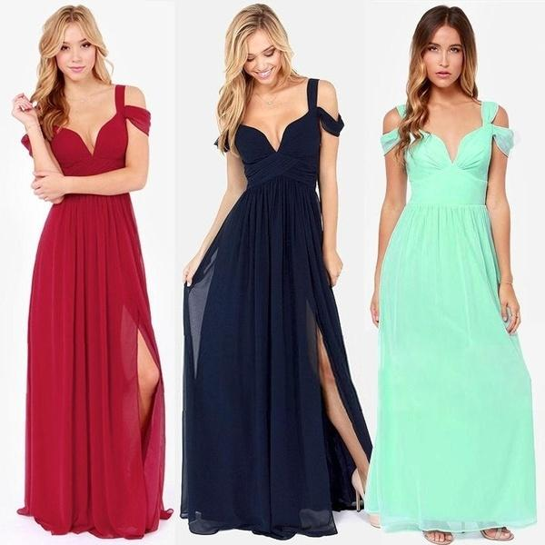 379926d0ca8f7 2019 HAP Women'S Ladies Greek Style Long Chiffon Pleated Dress Deep V Neck  Sexy Evening Cocktail Maxi Dresses 7_S From Affairr, $34.18   DHgate.Com