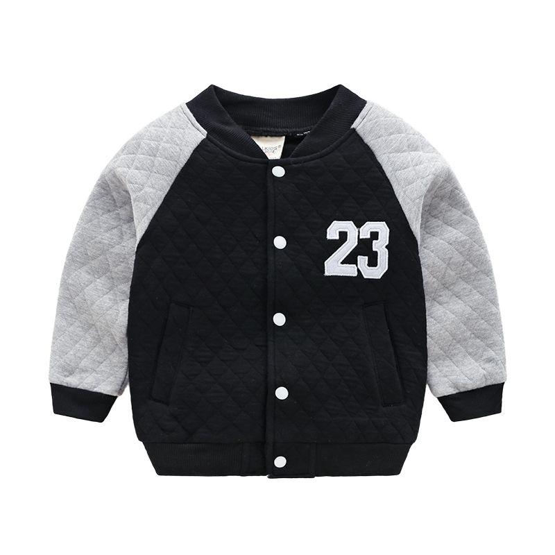 b65fe561f942 2018 Boys Bomber Jacket For Boy Outerwear Coat Tops Autumn Winter ...