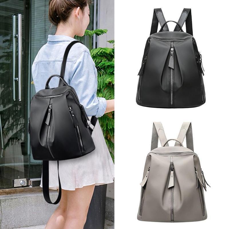 2b1514c742 Women Nylon Backpacks Travel Teen Girls Casual Shoulder School Bags For Girls  Fashion Travel Bag Bolsas Mochilas Sac A Dos Camera Backpack Back Packs  From ...