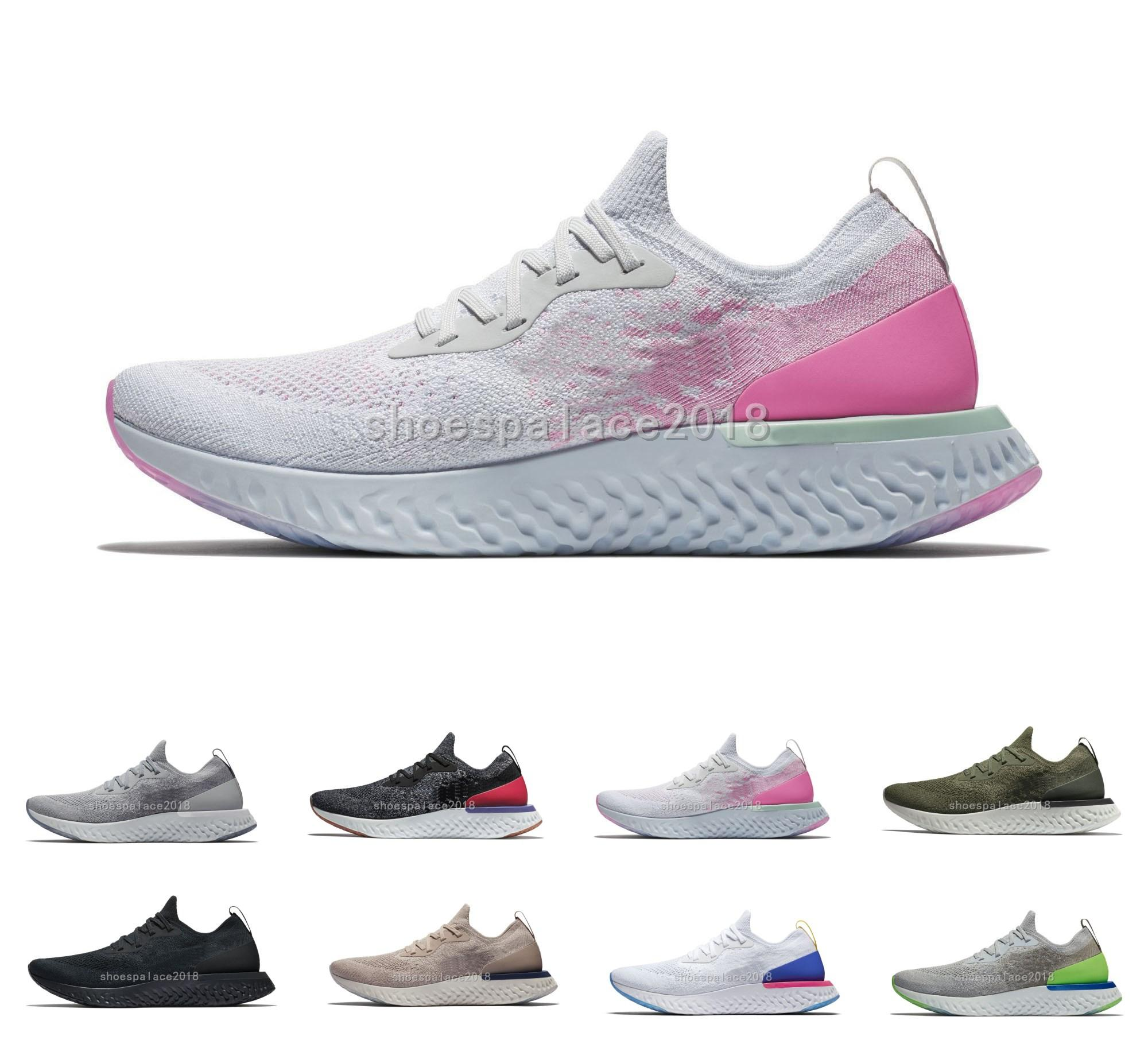 30cb61fa2368 Women Running Shoes Epic React Fly Knit Trainers Mens Sports Fashion Racing  Runner Men Sports Athletic Walking Sneakers Daily Gym Shoe Men Shoes Online  Best ...