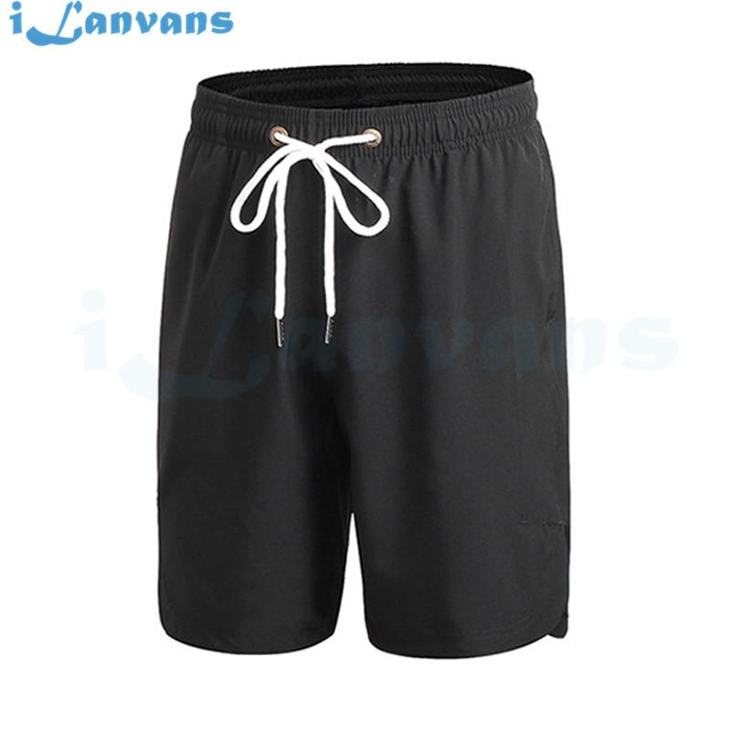 2017 Summer New Brand Mens Shorts Elastic Waist Beach High Quality Body building Ball And Leisure Short Casual Shorts Masculino