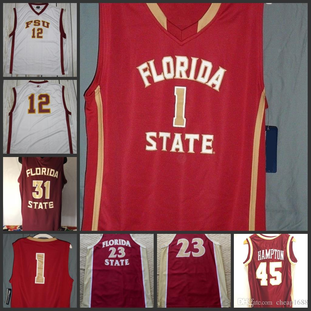 info for ff8e7 6fb14 2019 Custom FSU Florida State Seminoles  0 Phil Cofer 11 Braian Angola 14  Terance Mann 2 CJ Walker Any Name Number College Basketball Jerseys From  Cheap1688 ...