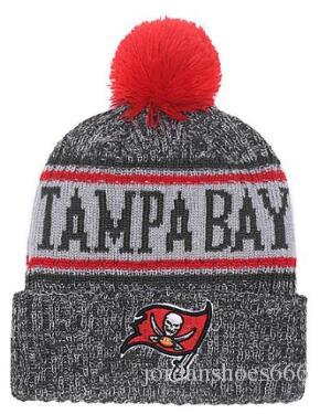 2019 Winter Hat Tampa Bay Beanie Stripe Sideline Cold Weather Sport Knit  Hat Wool Bonnet Warm TD Graphite Official Reverse Cap Beanies Canada 2019  From ... 9f27f0f7f99