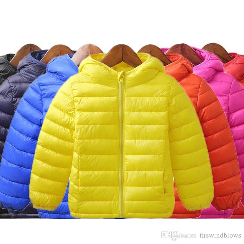 20c93d3bc Children Winter Jacket New Fashion Boys Girls Warm White Duck Down ...