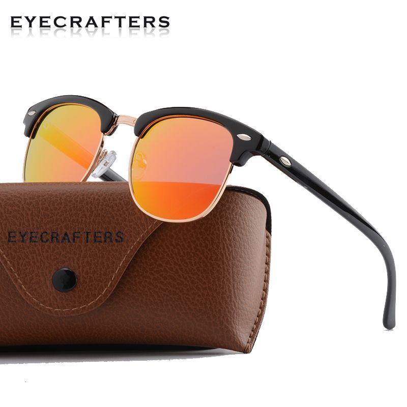 fdb71f9ecf6 Polarized Retro Designer Inspired Classic Half Frame Horned Semi Rimless  Mens Womens Fashion Sunglasses Eyewear RED 3016 Sunglasses Sale Kids  Sunglasses ...