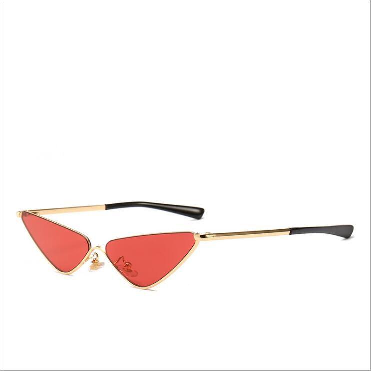 988a68da22f 2019 Vintage Cat Eye Sunglasses Shades For Women Brand Designer Triangle Half  Frame Retro Cateye Lady Sun Glasses Polarized Sunglasses Sunglasses For Men  ...