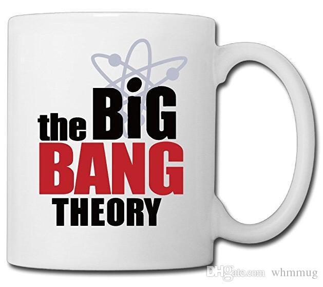Bang The Cadeaux png À Thé CéramiqueBlanc11 Drôles Café Personnalisée OzPour Theory Tasse En Big HI29DE