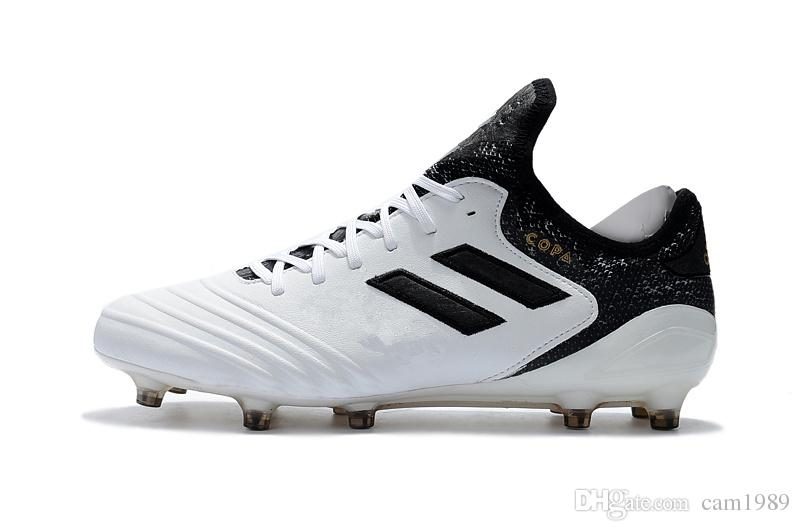 Mens Copa Mundial Leather FG Soccer Shoes 2018 New Copa 18 1 FG Football  Boots Size 39 45 Black White Orange Botines Futbol UK 2019 From Cam1989 1c08b9911