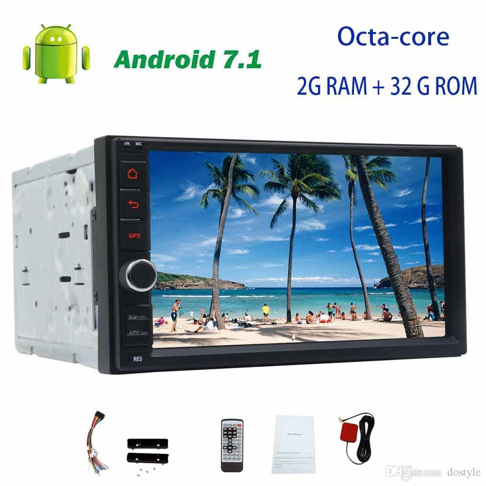 Android 71 Octa Core Headunit No Dvd Player 7 Touchscreen Double