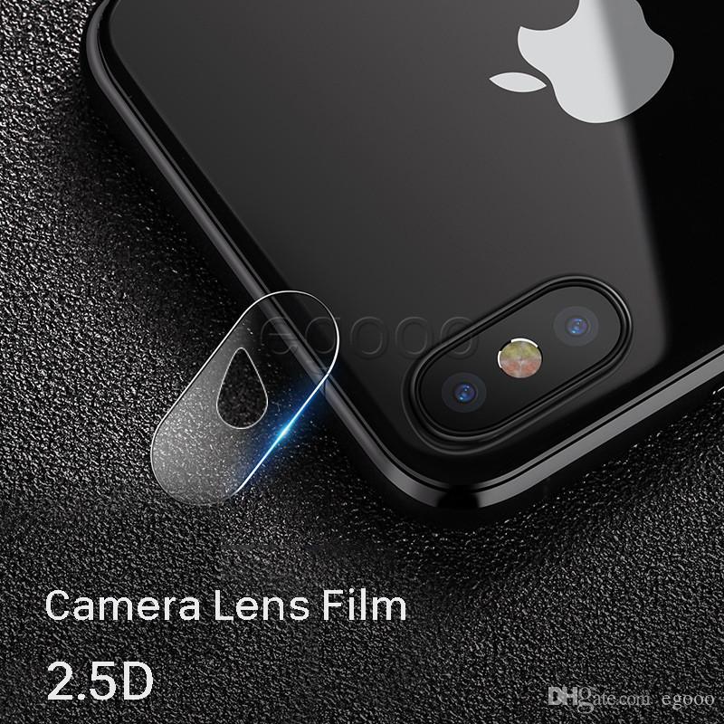 Kamera objektiv displayschutzfolie anti scratch 9 h gehärtetem glas film für iphone x xr xs max 8 7 6 plus ohne kleinpaket