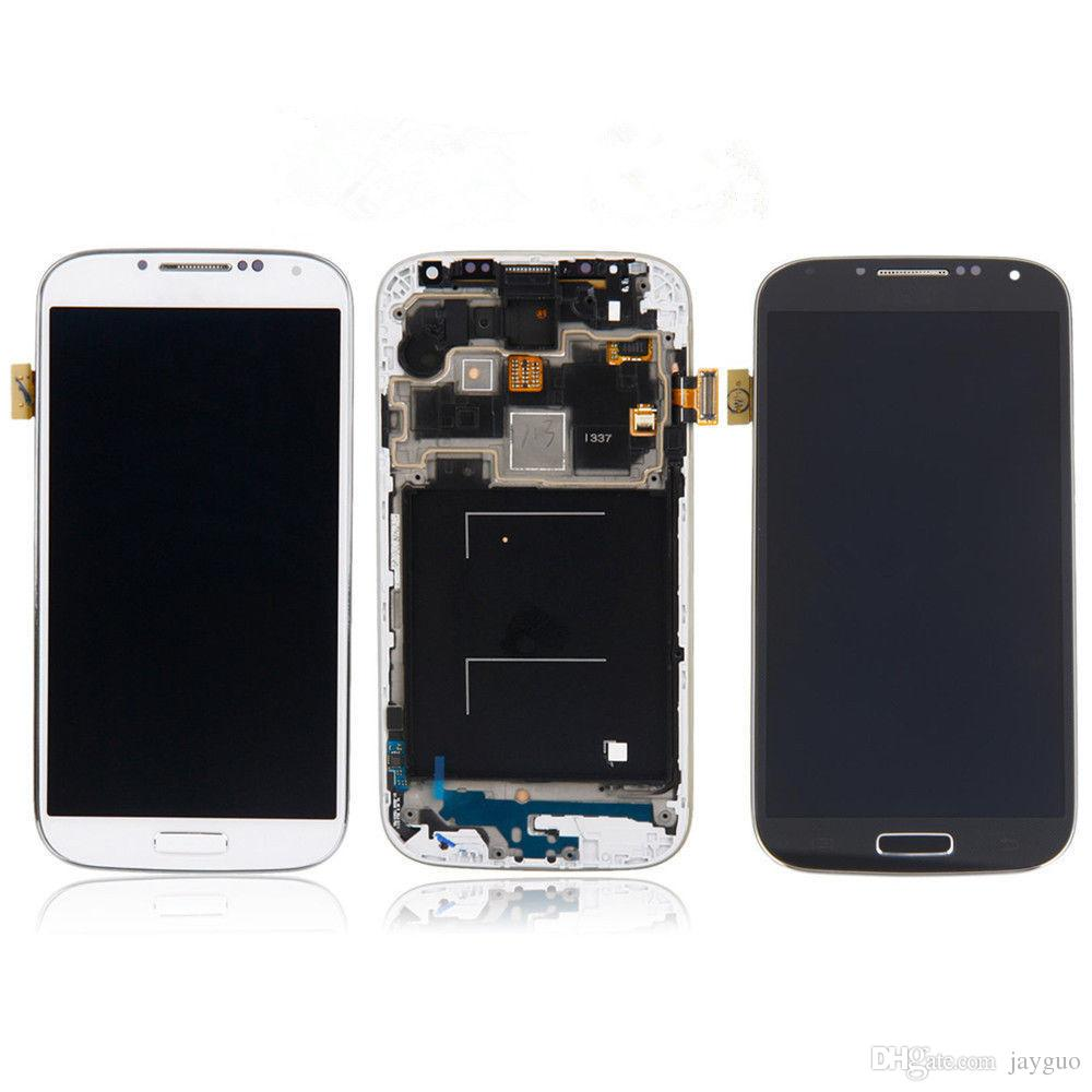LCD For Samsung Galaxy S4 i9500 i9505 i9515 i545 LCD Display Touch Screen Digitizer Screen+Frame Assembly Replacement LCDS