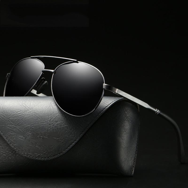 471ef26fec LUOMON Pilot Sunglasses Male Classic Driving Sun Glasses Retro ...