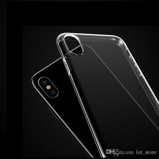 Clear Case Phone Cases For iPhone X case Coque for iPhone 6s for iPhone X Capa