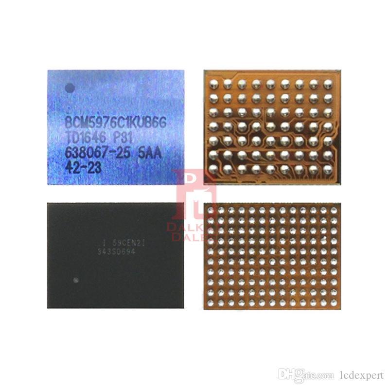 Yeni Dokunmatik Ekran IC iPhone 6 6 artı Beyaz U2401 + Siyah U2402 Çip Cep Telefonu Yedek Parçalar