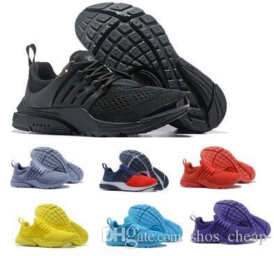 Marke Presto Schuhe Turnschuhe Mens Frauen Rosa Trainer Tennis Lauf Akronym Prestos 5 BR QS Atmen Sport Homme Walking Designer Schuhe
