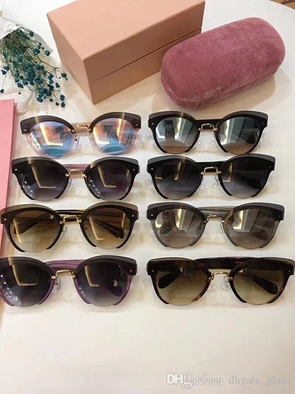 cb1211818efa European Brand Polarized Designer Sunglasses For Women Funky Sunglasses  Nylon Lens Plate Frame Cat Eye Glasses SMU53TS Opp Bag Package Prescription  ...