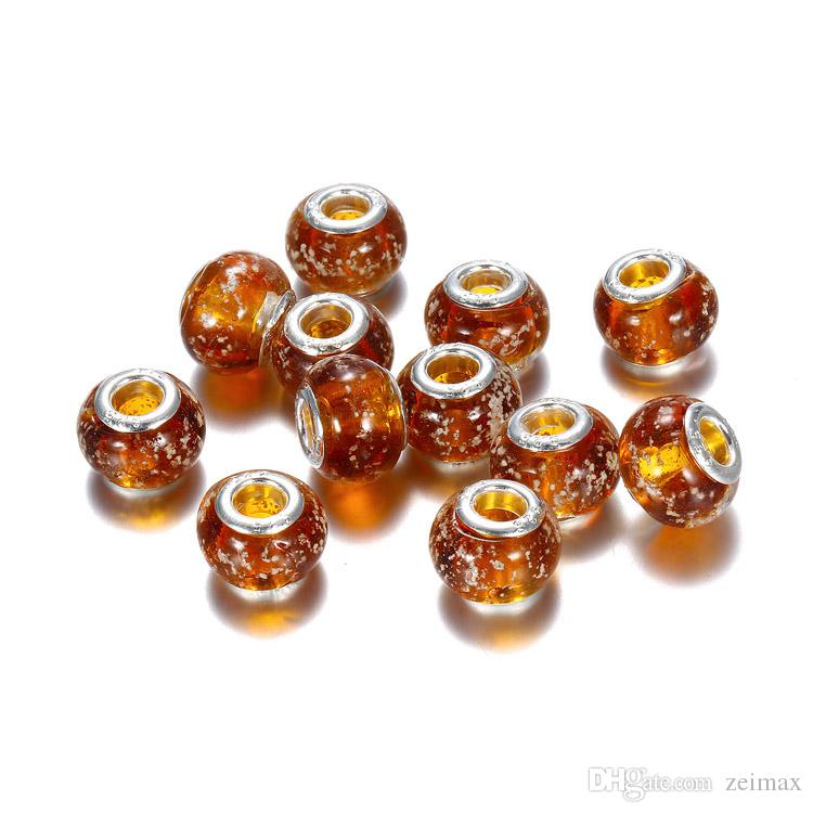 8 цветов классические муранские цветы бусины Европейский LAMPWORK бусины, пригодный для Pandora браслет браслеты ожерелье Бесплатная доставка