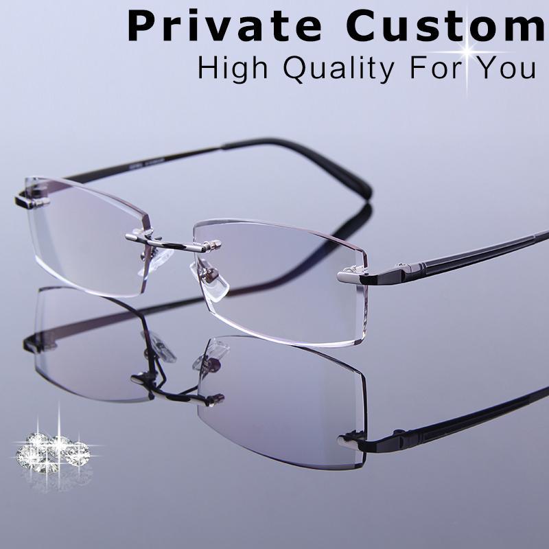 Compre Quadros De Óculos De Leitura De Alta Qualidade Para Homens Óculos De  Prescrição Myopic   Presbyopic Spectacle Olho De Computador Para Multi Foco  De ... d1625de927