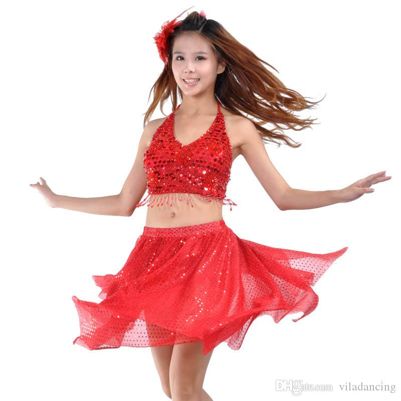 ffa2f58913c1 2019 Lady Belly Dance Set Dresses Bellydance Skirt Suit Indian Bollywood  Dancers Dance Costumes Women Adults From Viladancing, $14.08 | DHgate.Com