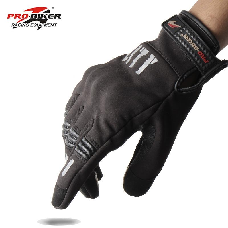 a512c91038d PRO BIKER Motorcycle Gloves Touch Screen Gants Motobike Bicycle Full Finger  Knight Gloves Drop Resistance Guantes Luvas Winter Motorcycle Clothing  Winter ...