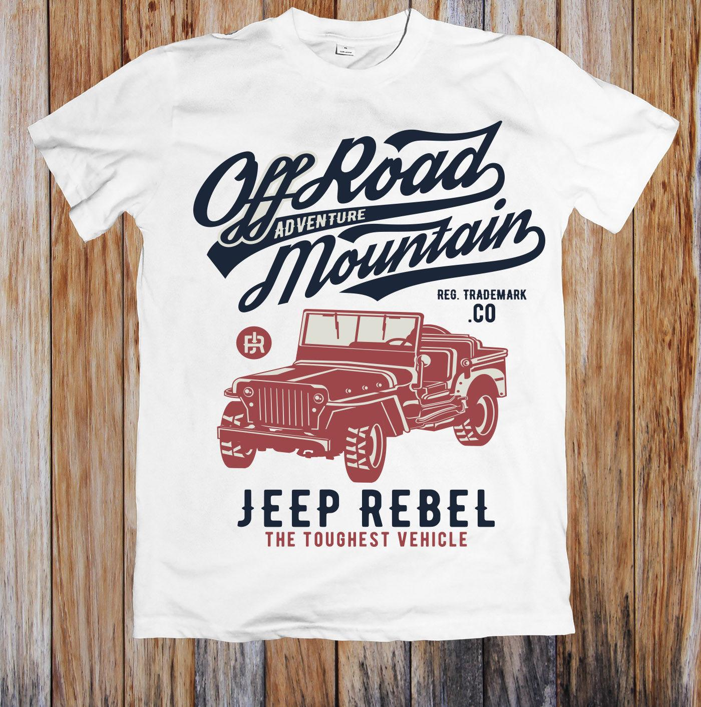 39824d588 OFF ROAD MOUNTAIN REBEL UNISEX T SHIRT Funny Unisex Casual Tee Top Designs  For T Shirts Awesome T Shirt From Clothes cafe charity