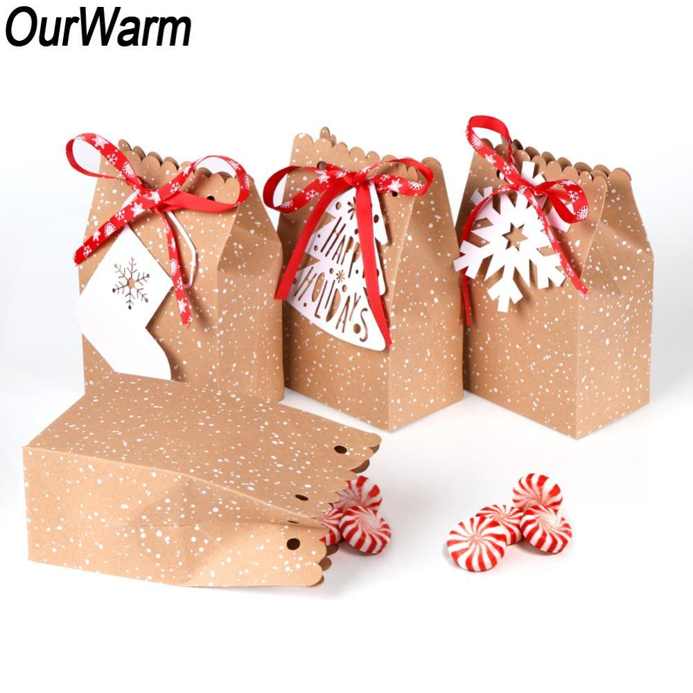 OurWarm Kraft Paper Bag For Gifts Party Favor Cookie Candy Packaging Bag Gift Wrap New Year Christmas Decoration For Home Christmas Gift Packaging Boxes ...  sc 1 st  DHgate & OurWarm Kraft Paper Bag For Gifts Party Favor Cookie Candy Packaging ...