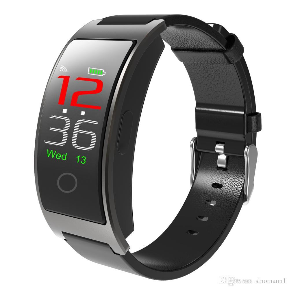 Für Ios Fitness Smart Armband Blutdruck Herz Rate Meter Schrittzähler Fitness Gesundheit Tracker Wasserdicht Smart Band Seien Sie Freundlich Im Gebrauch Schrittzähler