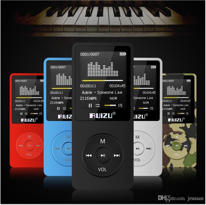 ميني USB فلاش MP3 مشغل MP3 Mp4 مشغل USB سعة تخزينية 8 جيجابايت 1.8 بوصة وشاشة تشغيل 80 ساعة مشغلات MP3 عالية الجودة راديو FM كتاب إلكتروني مشغل موسيقى R