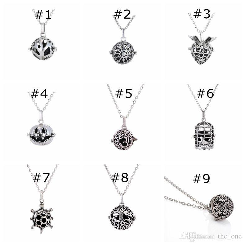 Magic Locket Essential Oil perfume Diffuser Pendant Charms Necklace pendant Aromatherapy Locket charm pendant Fairy Orb