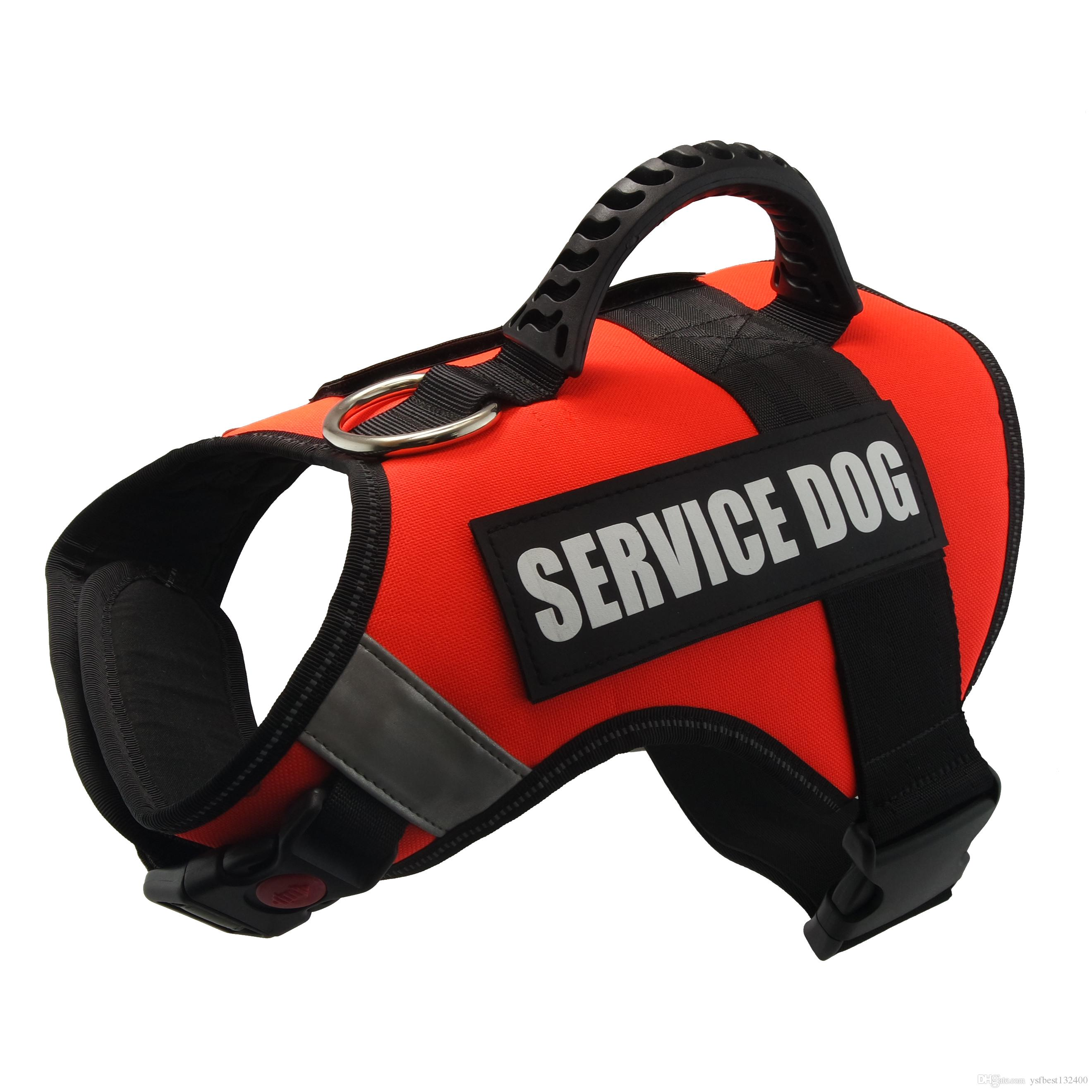 2019 Dog Vest Harness For Service Dogs Premium Comfortable Padded