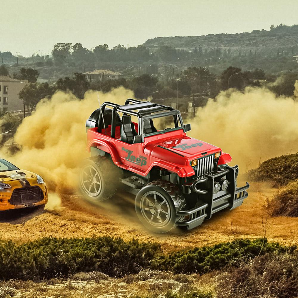 1 24 Rc Car Super Big Remote Control Car Road Vehicle Suv Jeep Off