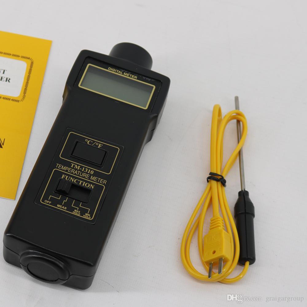 72f46f9aa11c Compre El Termómetro TM 1310 Se Utiliza Para Medir La Temperatura De Los  Sólidos De Los Gases Líquidos Y Las Temperaturas De La Superficie A  145.73  Del ...