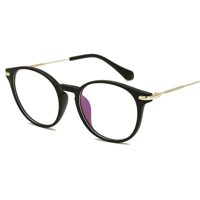 2f7d0b7bda Vintage Optical Eye Glasses Women Frame Myopia Round Metal Unisex ...