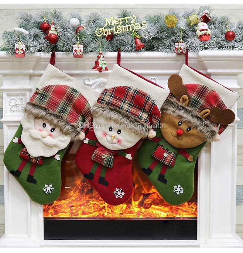 High Quality Christmas Stocking European Style Candy Socks Creative ...