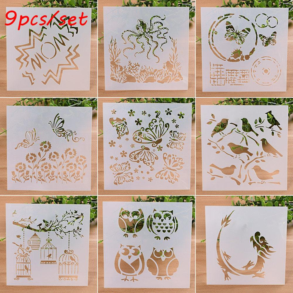 Diy Craft Layering Stencils For Walls Painting Scrap Album Decor Embossing Paper Card Template Stamps Price Embossing Stamp From Dparrot_love999