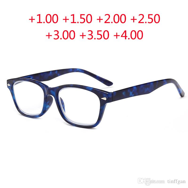 1fdee2d7755 2018 New Finished Reading Glasses Men Women PC Frame Hyperopia Glasses  Frames Reading Glasses 1.00 +1.50 +2.00 +2.50 +3.00 +3.50 Reading Glasses  For ...