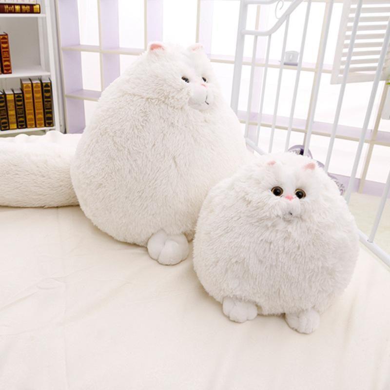 2b6b23ba515c 2019 Lovely Simulation Persian Cat Plush Toys Soft Cotton Stuffed Pembroke Pet  Animal Plush Fat Cat Dolls Best Gifts For Girl Kids From Zhang3344, ...