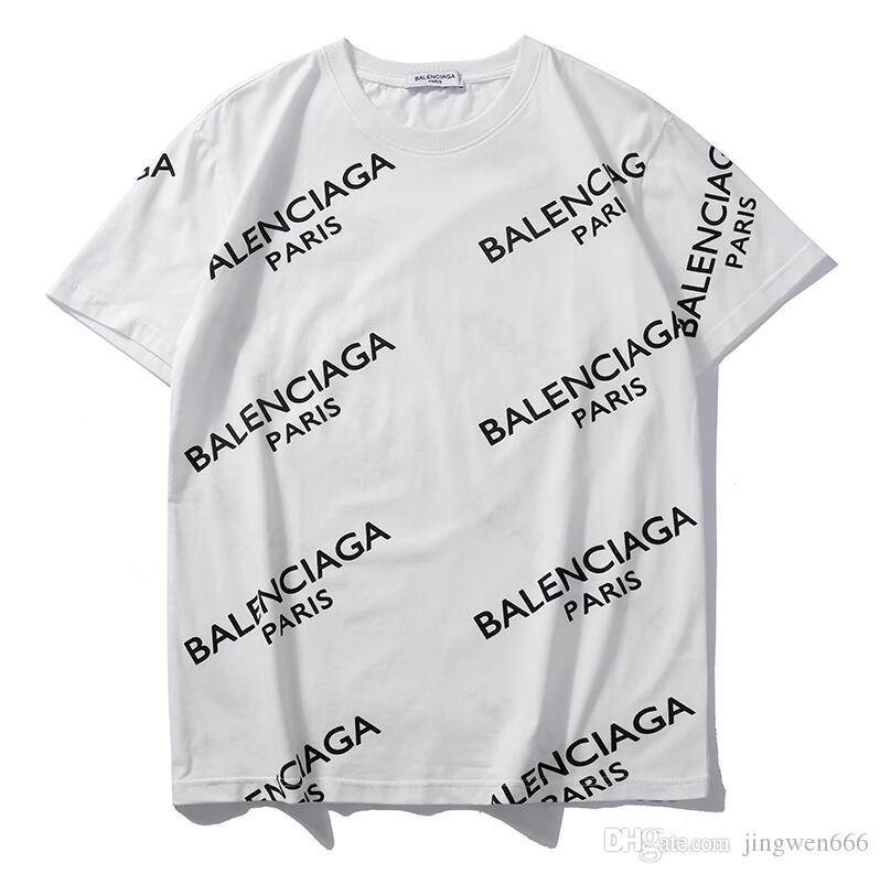 d459a845b602d Compre Primavera   Verano Venta Caliente Yeezus Nuevo Patrón BAL Moda  Lentejuelas Conejo De Oreja Larga Impresión De La Letra Completa Camiseta  Miedo De ...