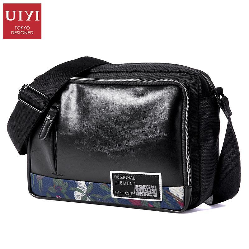 d5a70ce4b2 2018 New UIYI Messenger Bag Handbag Animal Print Men s PVC Polyester ...