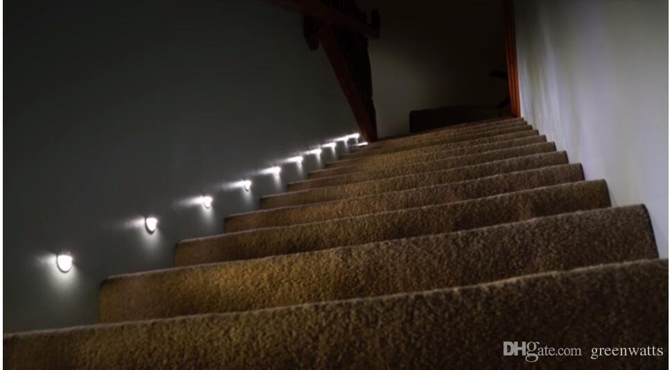 2019 Led Stair Light 85 265v 3w 1w Recessed Led Step