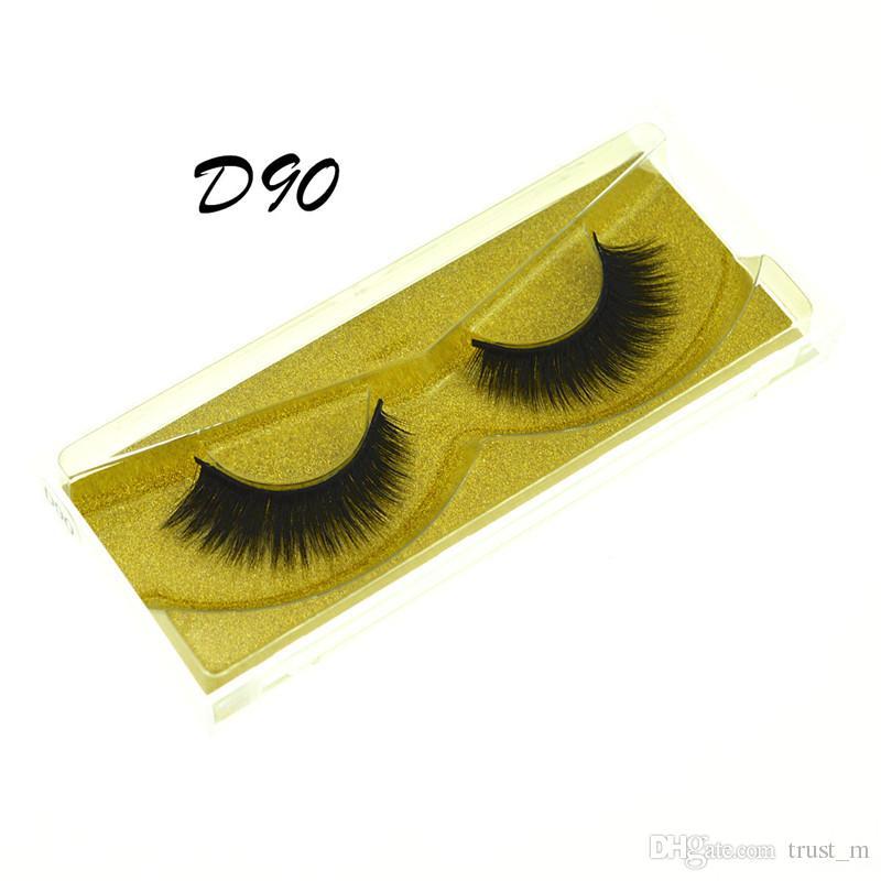Nerz Wimpern falsche Wimpern natürliche lange gefälschte Wimpernverlängerung dickes Kreuz Faux 3d Nerz Wimpern Augen Make-up DHL frei