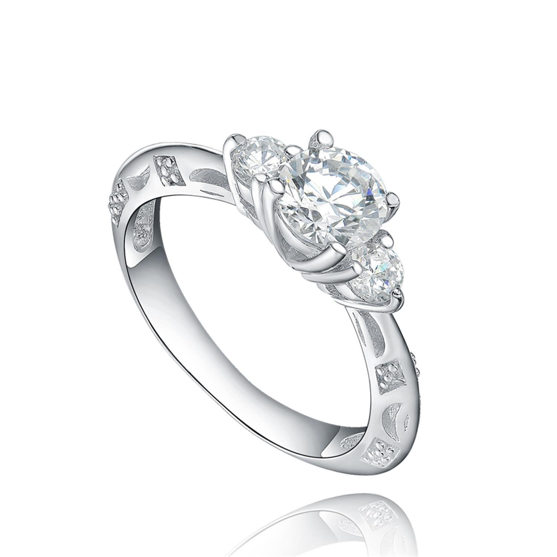 2018 2018 Hot Sales Star Harvest 925 Sterling Silver Engagement