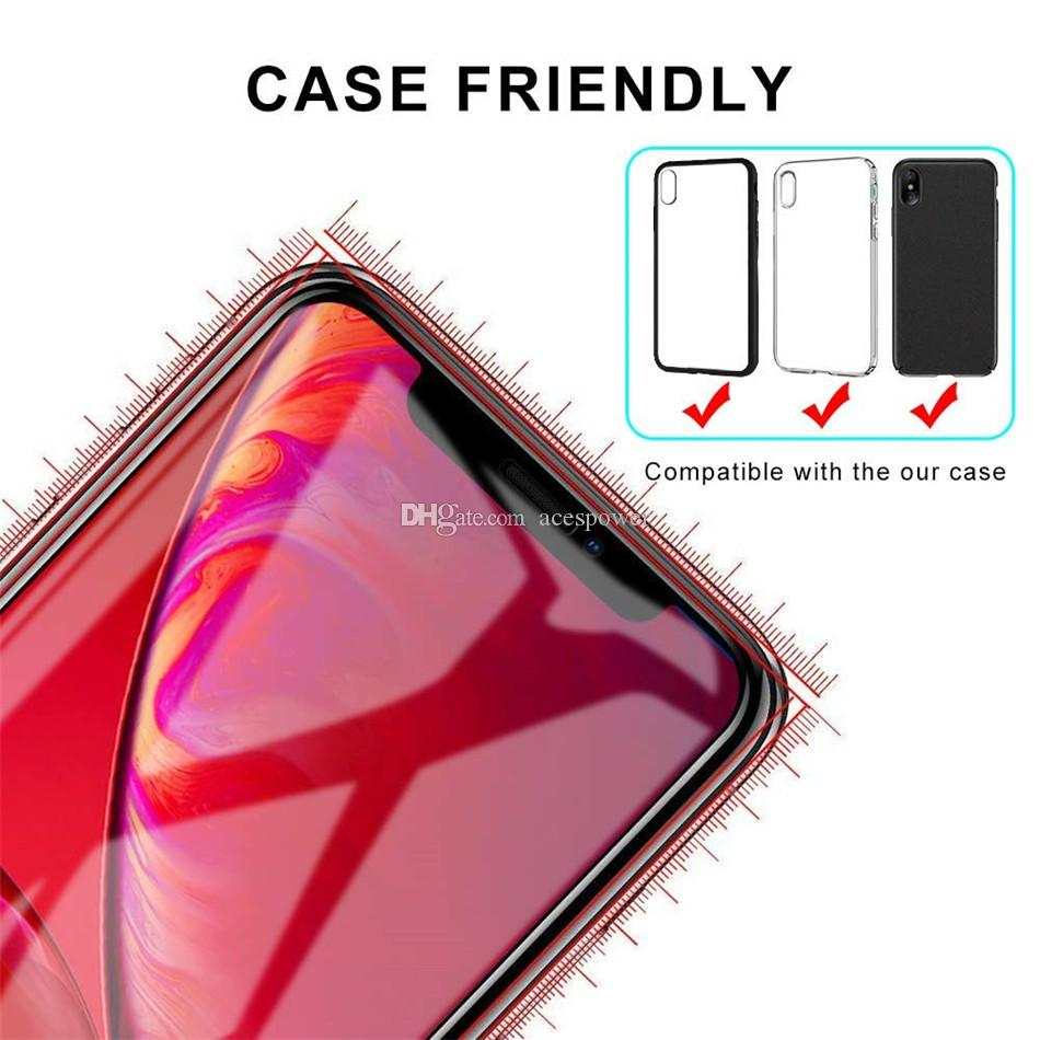 Full Cover Tempered Glass For Iphone 12 Mini XS MAX XR X 8 7 Plus Samsung J7 Prime Full Glue