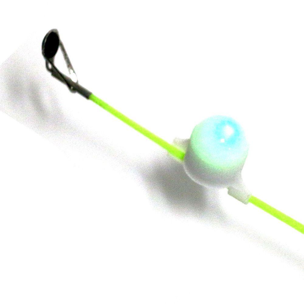 Pesca Allarme Sciopero Notturno Luce diurna Mare Grossa 100 metri Intelligente Flash elettronico Verde Pronto Pesce rosso acceso 1-5mm Rod Aces