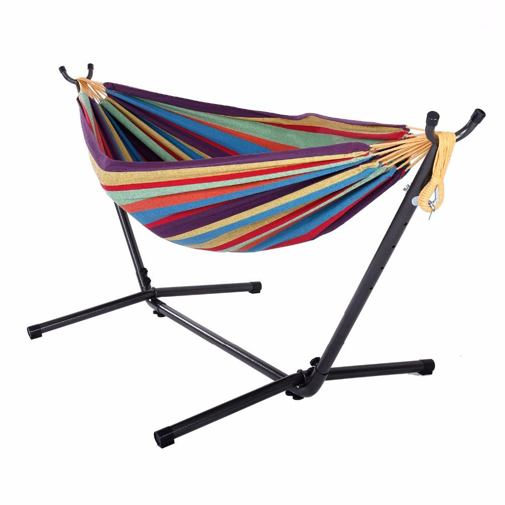 2019 Polyester Outdoor Portable Hammock Set With Stand HOT SALE From  Tanggo, $123.68 | DHgate.Com