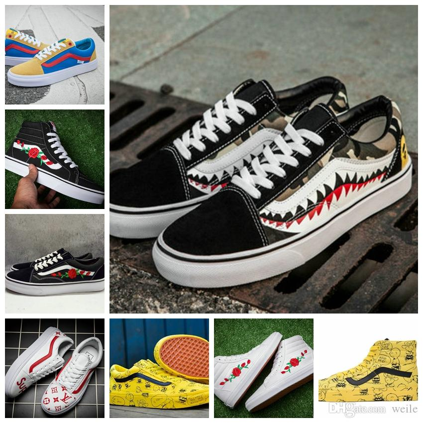 2019 2018 Vault X Bad Brains Classic Sk8 Hi LX Old Skool Casual Canvas  Running Shoes For Women Men Skateboard Sneakers Flower Zapatillas From  Weile 2eeac1198ba1