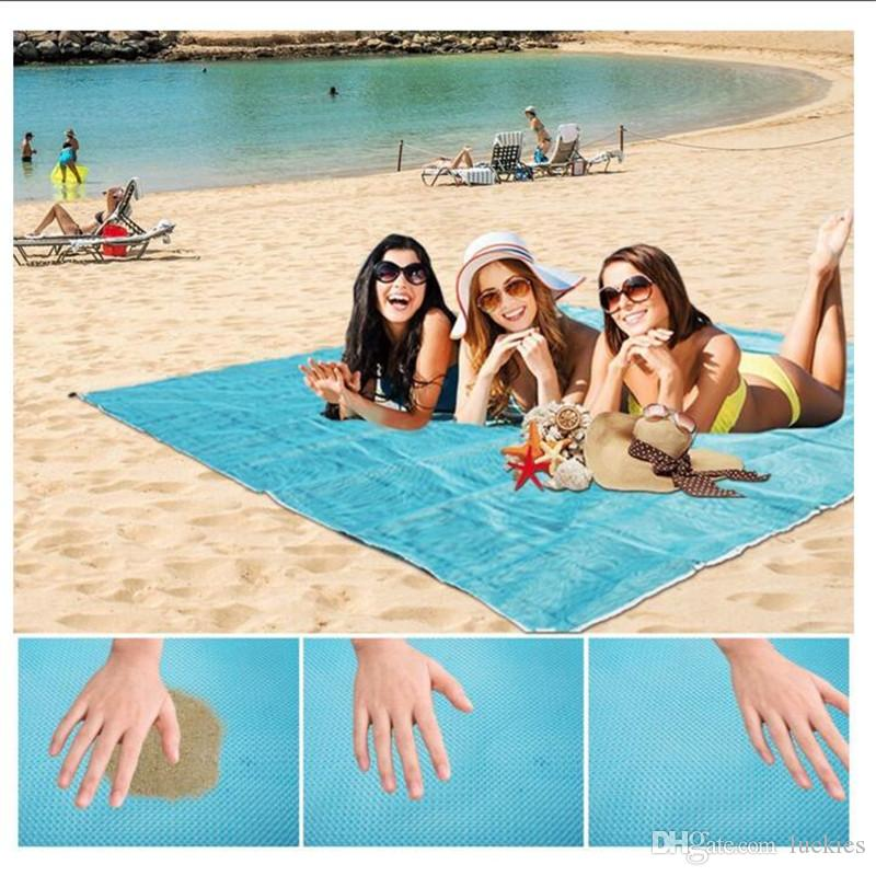 db20ad80d3 2019 Sand Proof Blanket Sand Free Beach Mat Fast Dry Waterproof Ultra  Portable Lightweight Compact Large Beach Towel 064 From Luckies